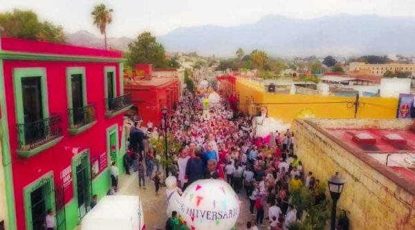 Oaxaca celebrates 486th birthday
