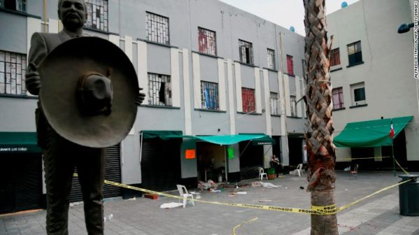 Men dressed as mariachi musicians kill 5 in Mexico City plaza