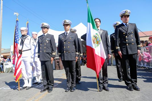 Salinas celebrates Mexico's Independence Day