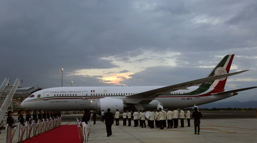 The man making an offer on Mexico's presidential jet is a staunch advocate of the border wall