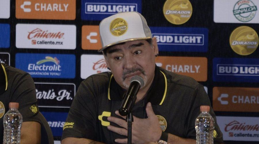 Mexico braces itself for Diego Maradona's Dorados coaching debut